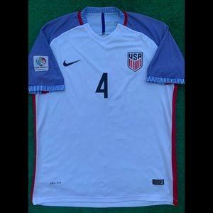 2016 USA soccer jersey Nike America United States